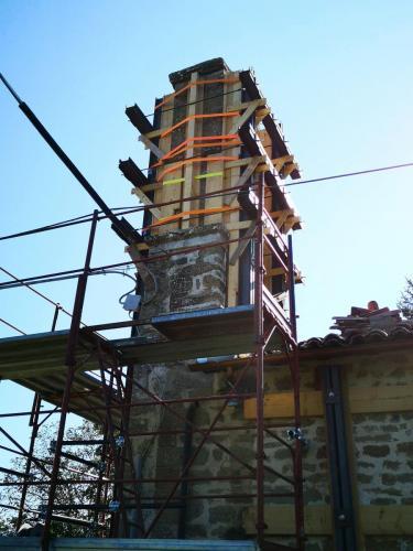 Cassino / 6 settembre 2018 Messa in sicurezza della Chiesa di S. Lorenzo Martire